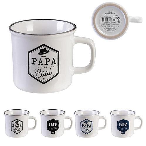 Mug vintage Papa 30 cl