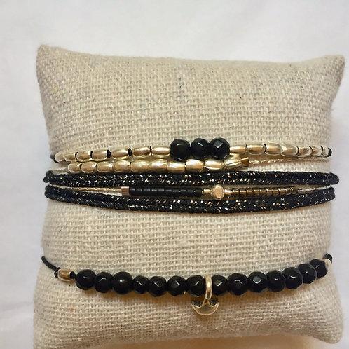 Ensemble de 3 bracelets ARGENT 925