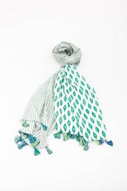 foulard vert
