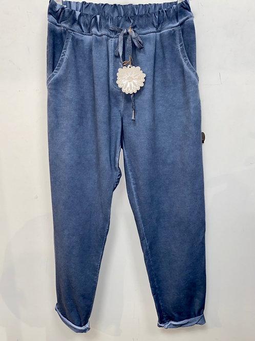 pantajog bleu jean