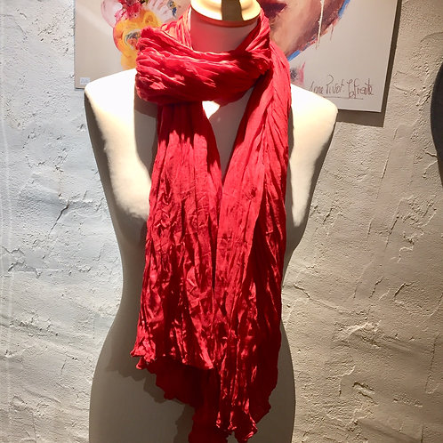 chech rouge en coton