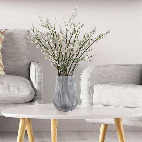 Vase CAMELIA gris 29cm