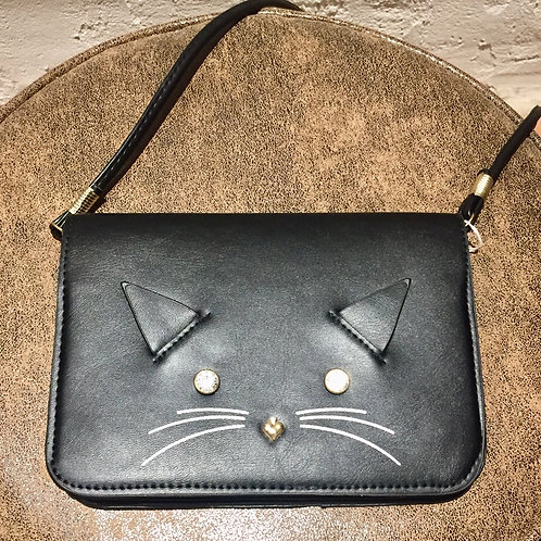 sac pochette chat