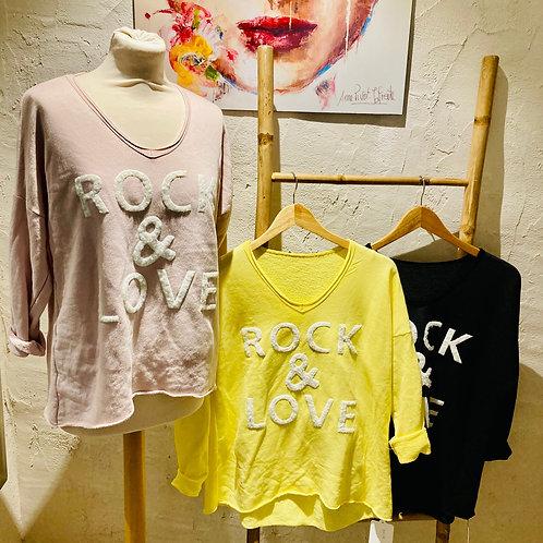 top rock and love en coton