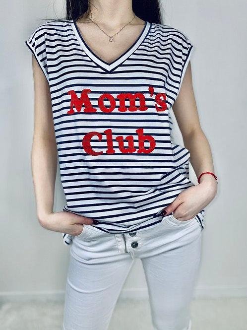 tee-shirt mom's club marin