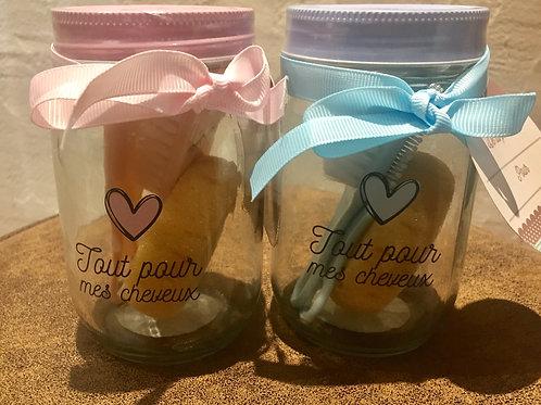 Jar spécial beauté bébé - Kit cheveux