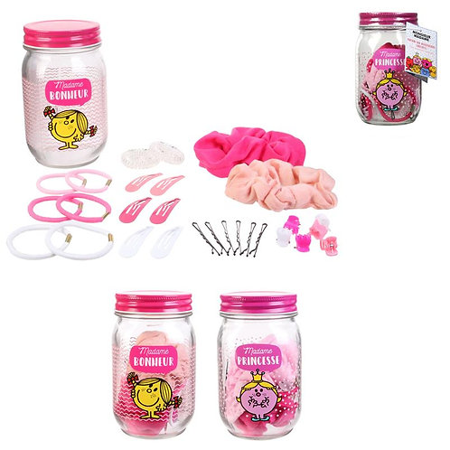 Jar accessoires cheveux MR MME