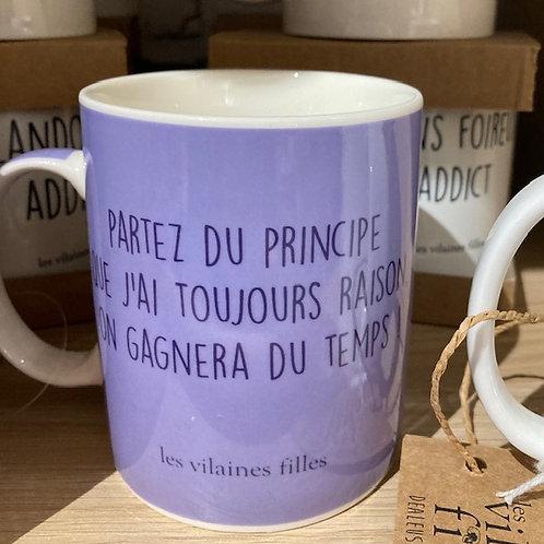 mug J'ai toujours raison