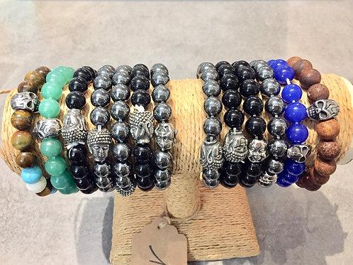 bracelets en perle pour homme