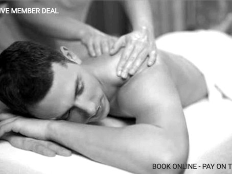 35% Off Massages - Exclusive Member Only Offer
