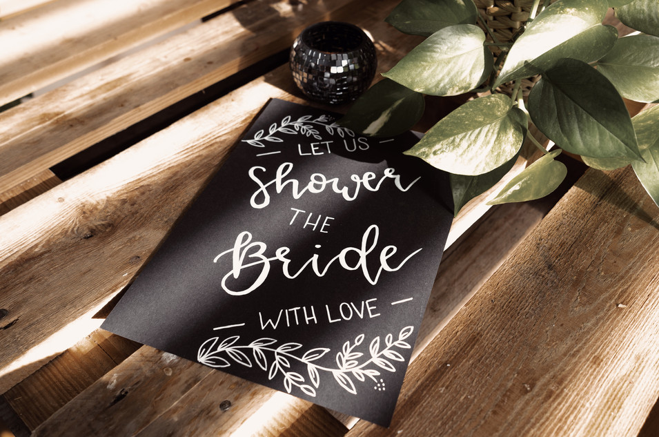 Let us shower the bride with love