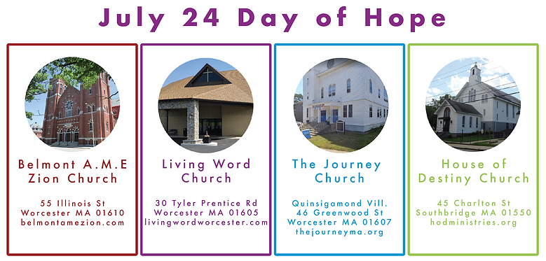 Day of Hope Locations 2021