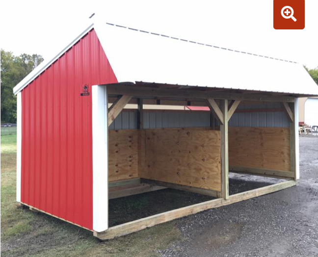Loafing Shed 12' x 30'