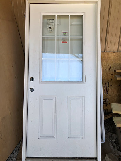 """36"""" 9-Lite Door"""