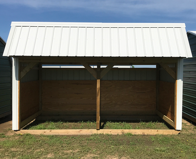 Loafing Shed 12' x 24'