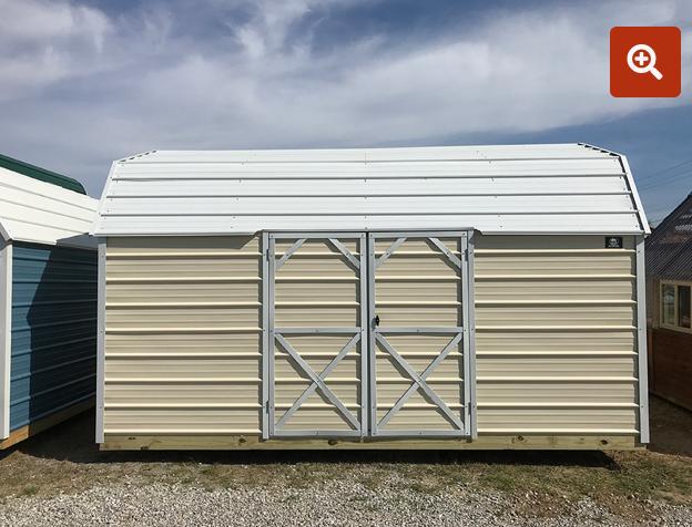 Side Lofted Barn 14' x 36'