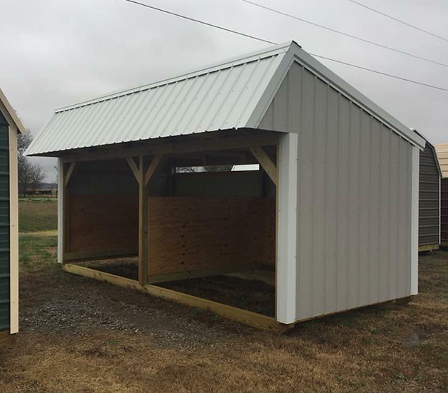 Loafing Shed 12' x 26'