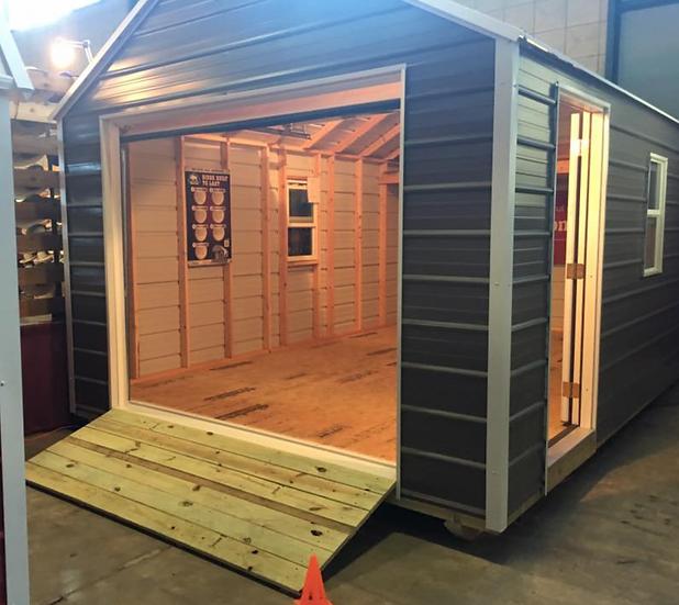 Portable Garage 14' x 36'