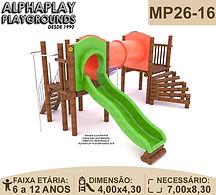 Playground, Playgrounds Madeira Plastico
