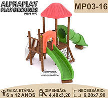 Playgrounds Madeira Plastico