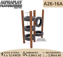 playground em tronco de eucalipto