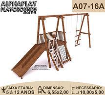 Playground tronco eucalipto casa do tarzan