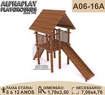 Playground tronco eucalipto