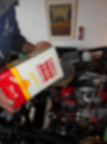 Alan-serviced-the-Reliant-motor-complete