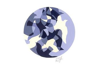 Vole (mosaïque)