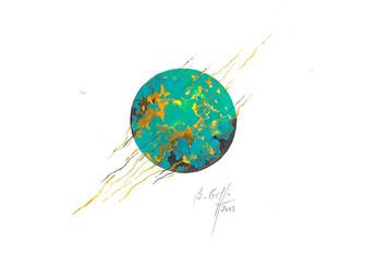 Planète incandescente