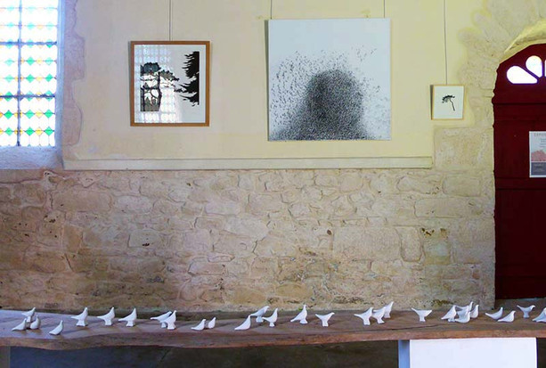 Migration: exposition à La chapelle Saint Laurent (l'art dans les chapelles en nord Finistère)