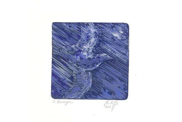 Le messager bleu