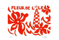 Fleur de l'île (rouge) (les perdrix)