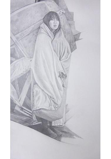 Répliques 1, Portrait debout
