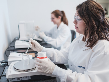 Admix Pharma product testing laboratory
