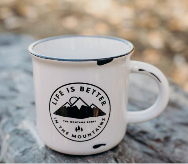 Better in the Mountains Mug