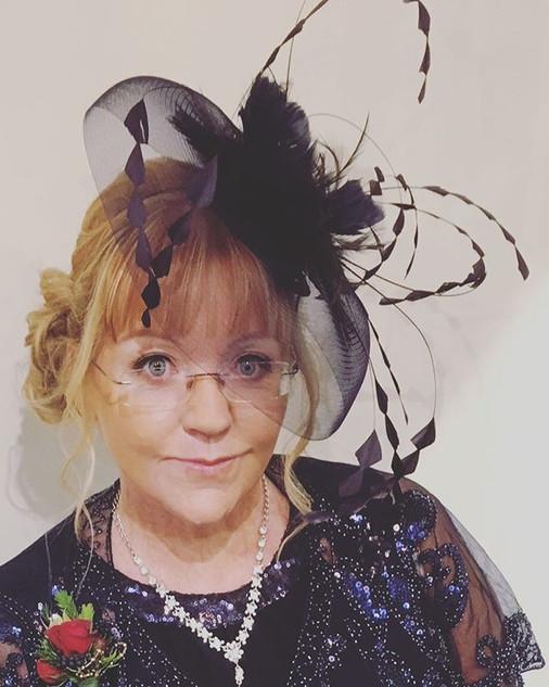 The lovely Adele! #motherofthebridehats