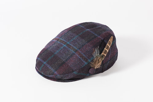 Harris Tweed Wool Cap