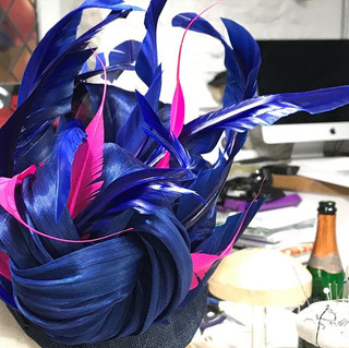 Feathers, flow & fizz! _Sculptural feath