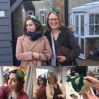 🎄Festive Millinery Workshops! __lucybow