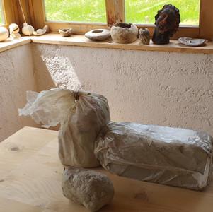 Shranjevanje gline