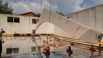 Neubau einer Halle in Oberfecking (Lkr Kelheim)