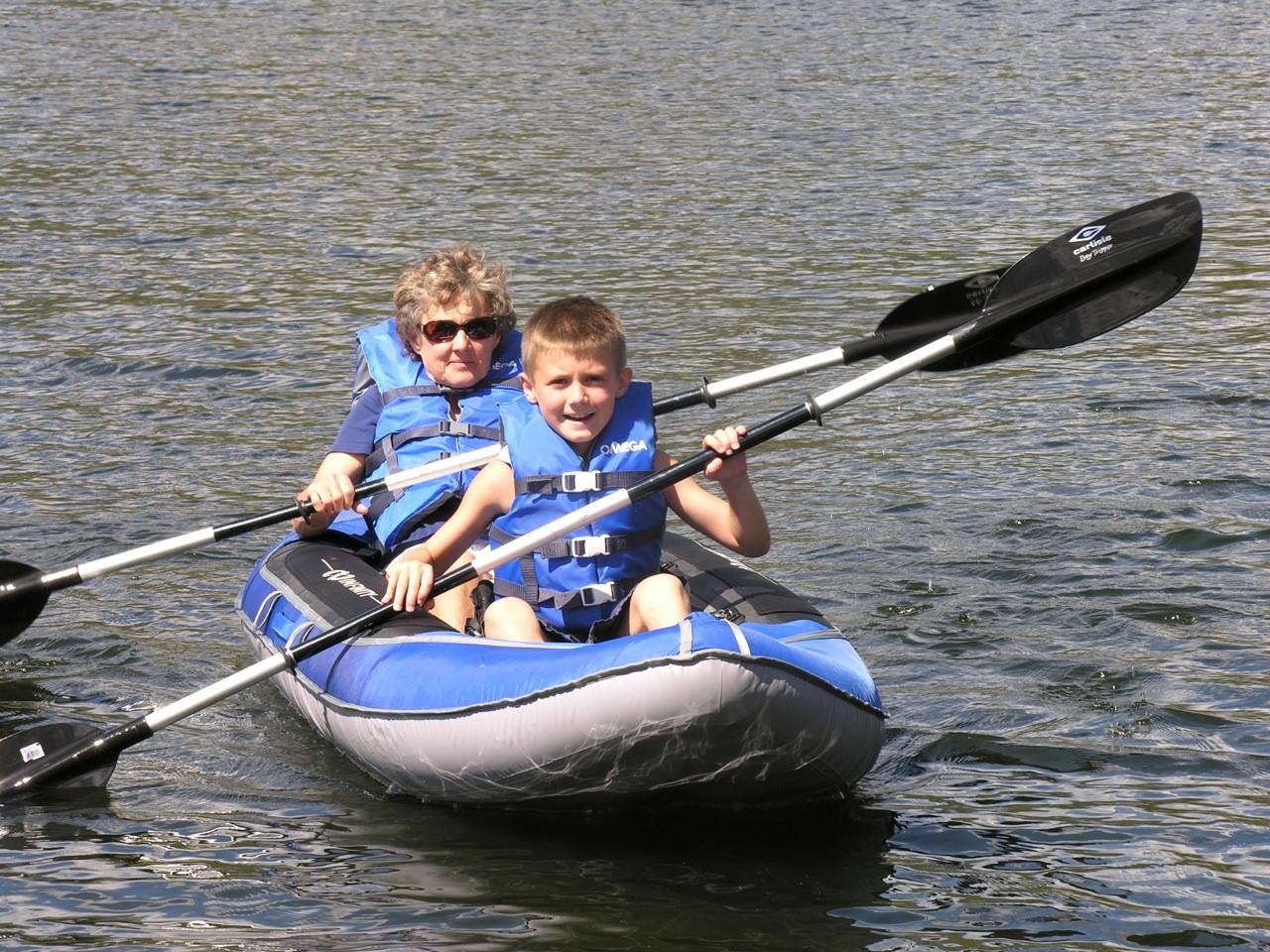 Kayaking on North Pond