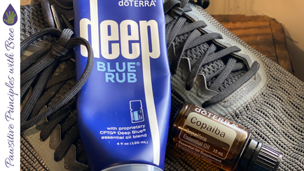 Deep Blue & Copaiba - My outdoor activity lifesaver!