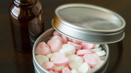 Essential Oil Valentine Breath Mints