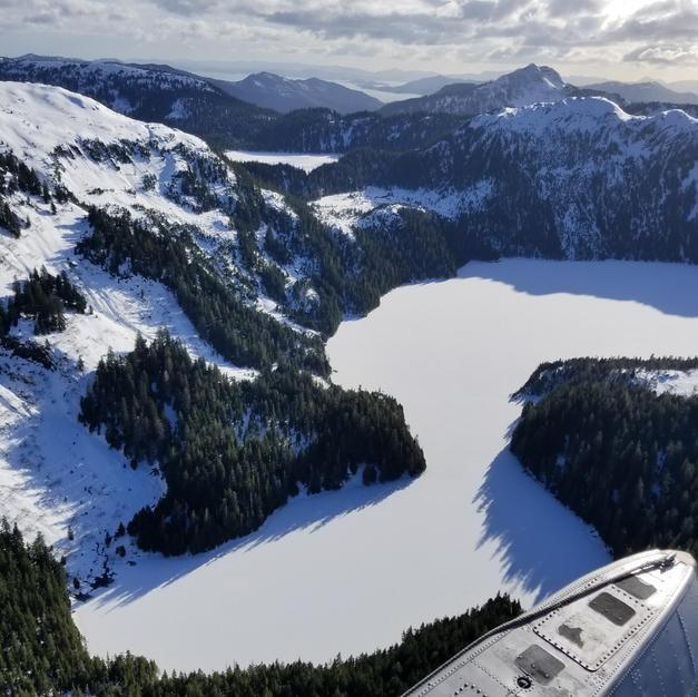 Frozzen lake