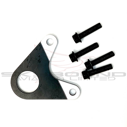 ME300 - Support plate for electric starter, black (includes: MP060)