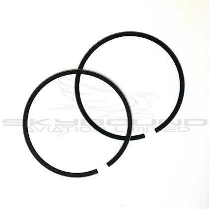 M013 - Piston ring GS10 chromed (Set of 2)