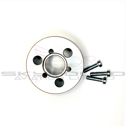 MP038 - Aluminum toothed pulley for Flywheell IDM - Manual (incl:M039)
