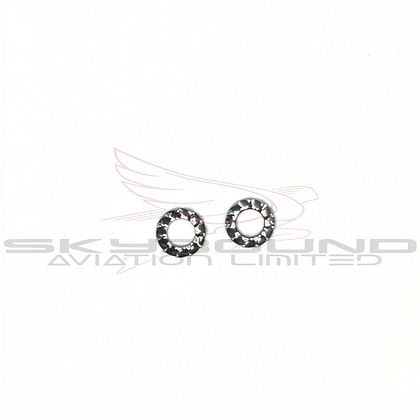 M033 - Lock washer tooted Ø 5 mm DIN 6798A (Set of 2)